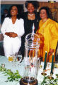 Oprah Winfrey, Maya Angelou, and Coretta Scott King