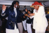 Nick Ashford dancing with Maya Angelou