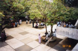 Outdoor courtyard at the University of Ibadan