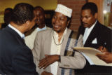 Louis Farrakhan, Eugene Redmond, and Carl Officer (2 of 2)