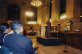 Toni Morrison speaking at the St. Louis Public Library