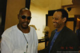 Avery Brooks and Haki Madhubuti