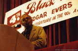 Amiri Baraka speaking at a conference (2 of 3)