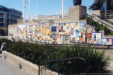 Peace wall in Jack London Square (1 of 2)