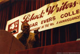 Amiri Baraka speaking at a conference (3 of 3)