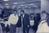 Eugene Redmond, Nikki Giovanni, and Cornel West