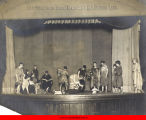Actors in Greek costumes performing at Hull-House