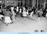 Rosenwald Cottage -- folk dancing at BCC at night