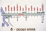 Proposal for a tree-lined avenue along Chicago Avenue