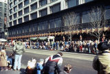 State Street Thanksgiving parade and Carson Pirie Scott store