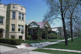Three-flats and single-family houses, West Estes Avenue