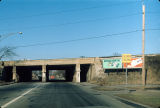 Train overpass, South Martin Luther King Drive