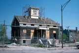Clarke House during restoration