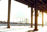 Chicago Skyway and State Line Power Plant