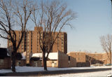 Duplexes and apartment buildings, East Chicago