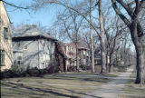 Residential street, Longwood Drive District