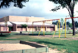 West Lawn Park play area and Fieldhouse