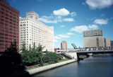 Butler Brothers Warehouses and Chicago River