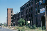 Derelict factory building, East Garfield Park