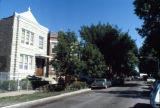 Apartment houses, South Trumbull Avenue
