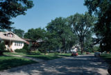 Residential area, North Circle Avenue, Norwood Park