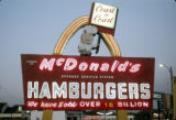 McDonald's restaurant sign, Skokie