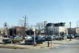 Parking lot, Benson Avenue at Clark Street, Evanston