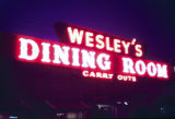 Wesley's Dining Room sign, Skokie