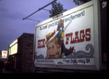 Six Flags billboard, Wilmette