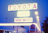 Toyota automobile dealership signs, Skokie