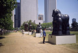Botero sculpture exhibition, Grant Park