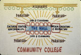 Community College site plan