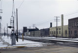 Railroad tracks and industrial buildings, Wheaton