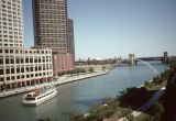 Chicago River from North Columbus Drive