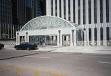 Plaza entrance, Amoco building