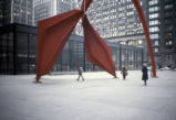 Calder sculpture, Chicago Federal Center