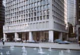 View of Daley Plaza and Cook County Administration Building