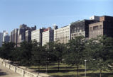 View of South Michigan Avenue from Grant Park