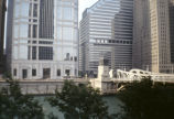 View of buildings on West Wacker Drive