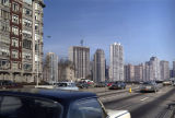 Lake Shore Drive roadway with high-rise development along North Lake Shore Drive