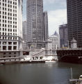 Chicago River at the Michigan Avenue bridge