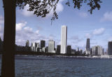 Chicago skyline from the lakefront