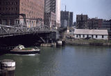 Chicago River and Dearborn Street bridge