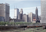 Michigan Avenue from railroad yards