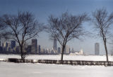 Chicago skyline from the Near South Side