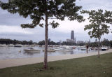 Boats in Diversey Harbor
