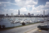 Burnham Harbor and Chicago skyline