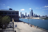 Navy Pier and city skyline