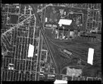 Chicago Aerial Survey 1938 #16, Washtenaw to Wolcott, 37th to 43rd