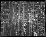 Chicago Aerial Survey 1938 #156, Union to Michigan, 43rd to 49th